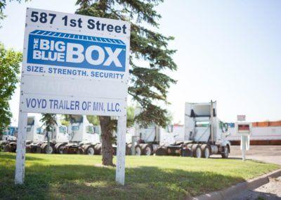 Big Blue Box Headquarters