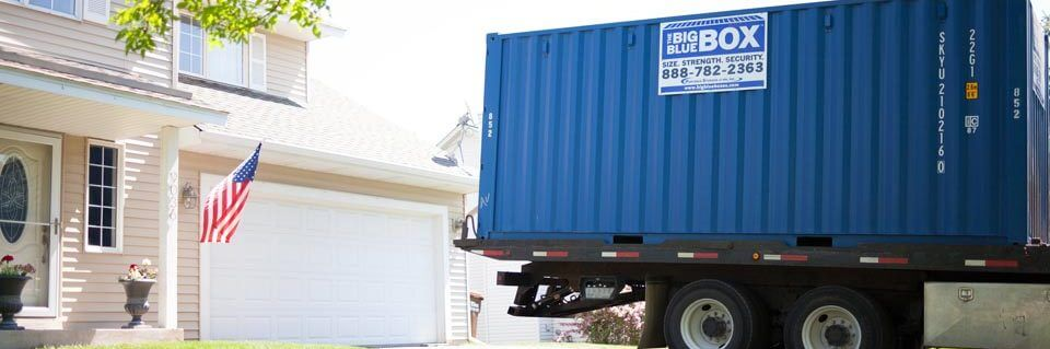 Residential Self Storage Container Delivery