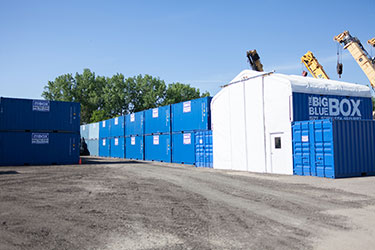 CommercialBusiness Self Storage Units MN Portable Toilets for Rent