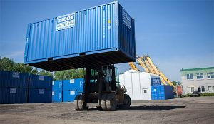 On Site Storage Containers Madison Big Blue Boxes