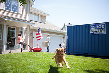 Portable Storage Containers Delivered To Your Home or Business Bloomington