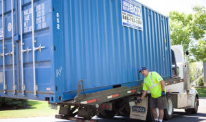 On Site Residential Conex Container Storage Rentals Minneapolis