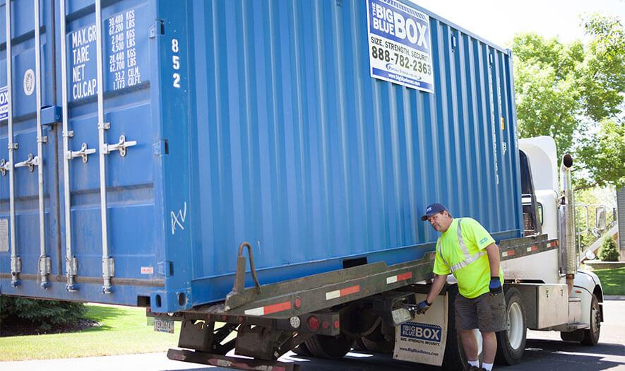 Conex Container Storage Options - Big Blue Boxes
