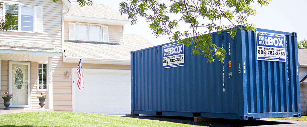 Portable Self Storage Containers For Moving Or Storage